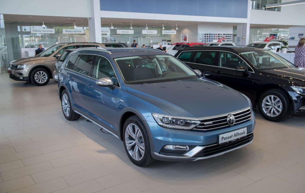 Volkswagen Passat Alltrack 220AG DSG 4Motion