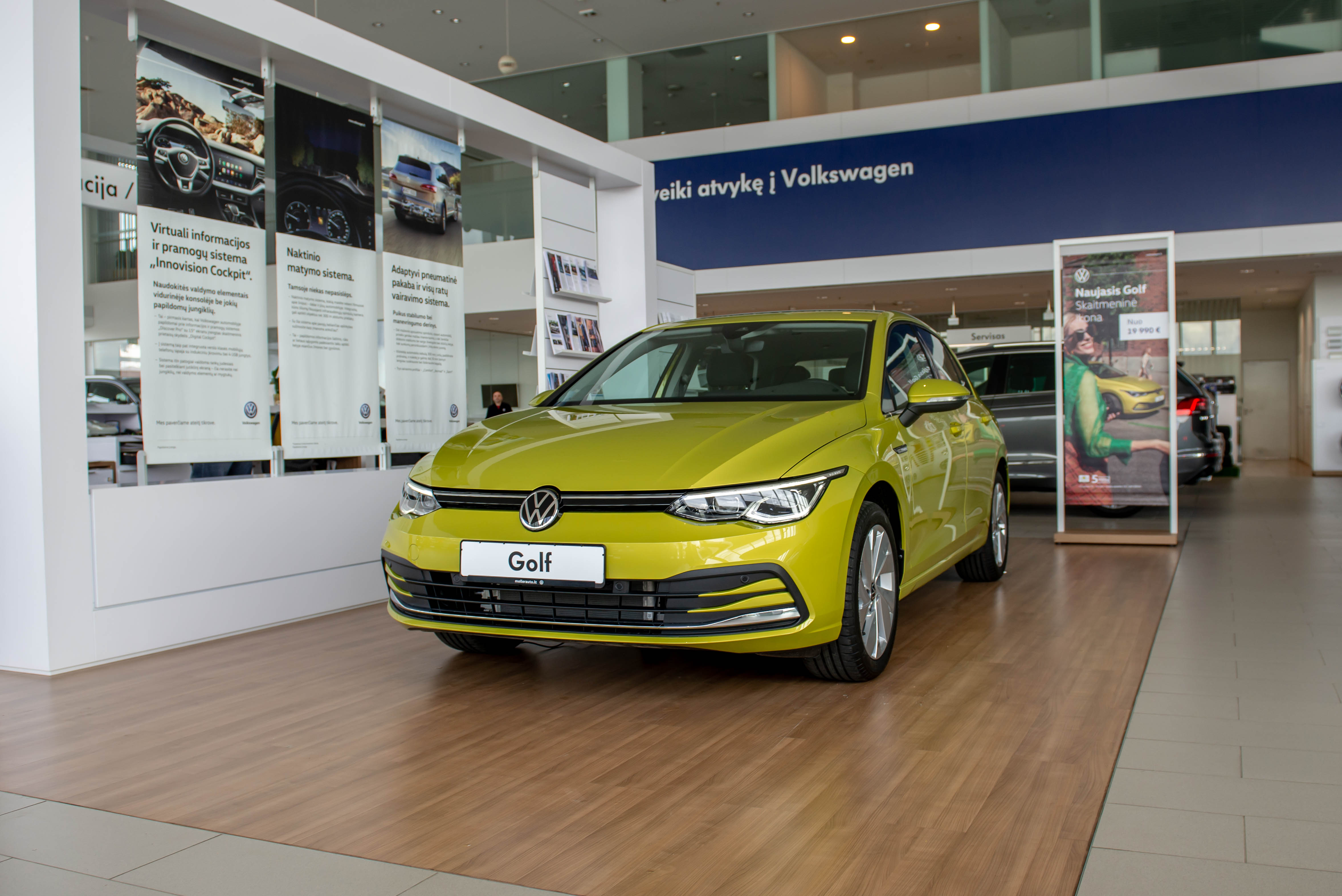 Naujas Volkswagen Golf 1.5 eTSI 150AG DSG