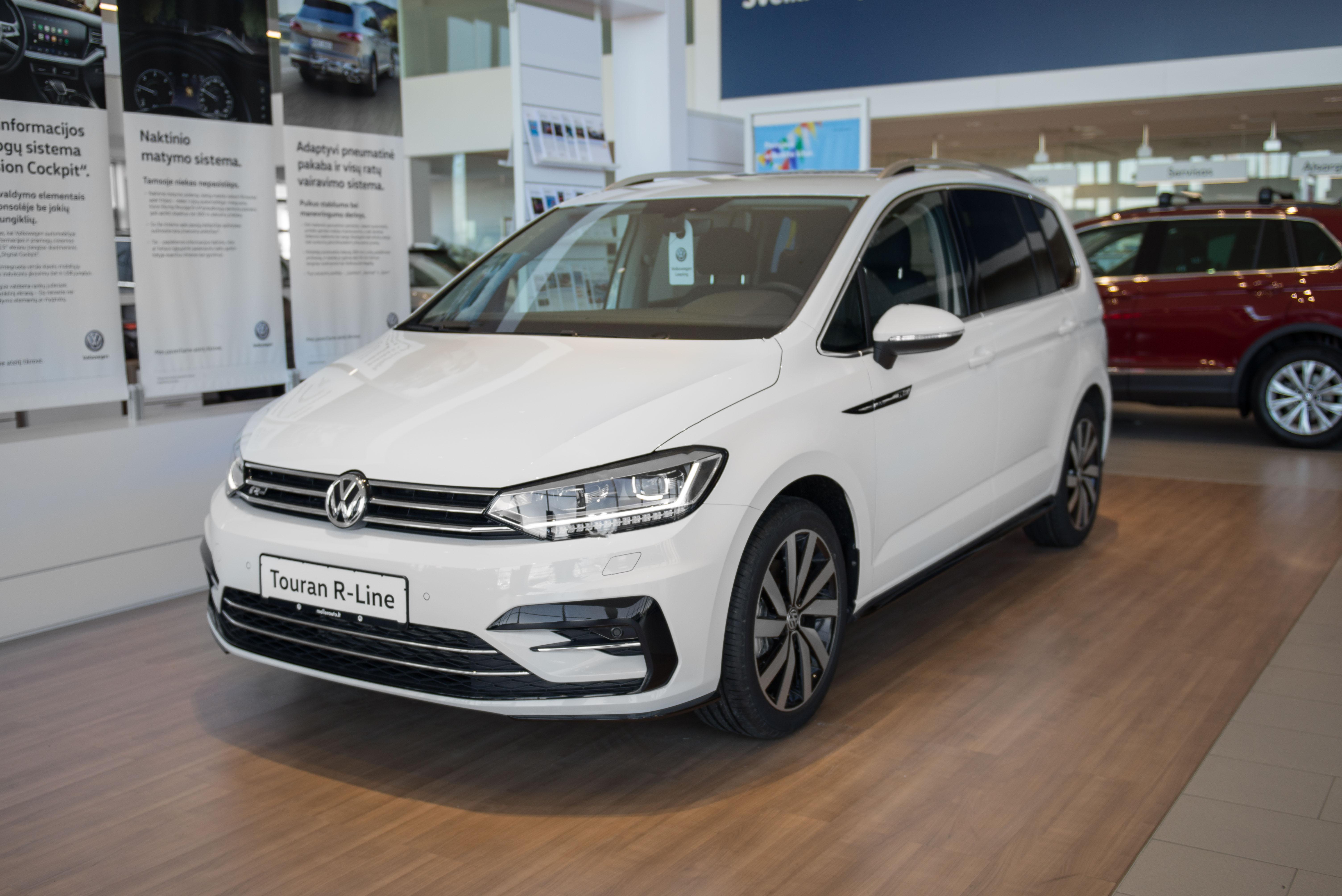 Volkswagen Touran 1.5 TSI 150AG R-Line