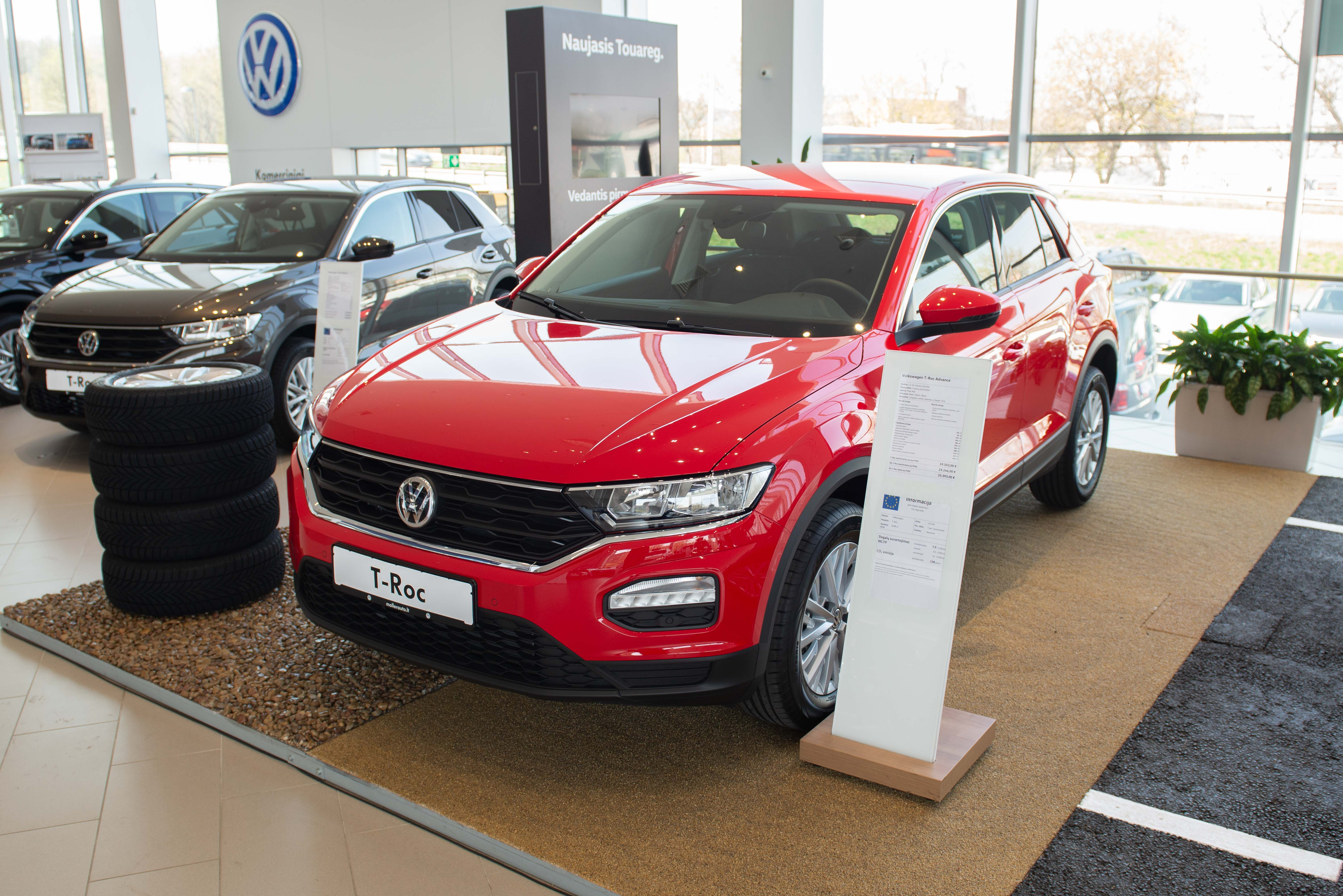 Volkswagen T-Roc Advance 1.5 TSI 150AG DSG